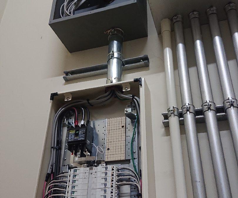 電気工事・施工事例1